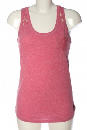 Tank Top pink flecked casual look