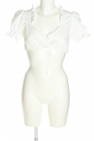 Traditional Blouse white classic style