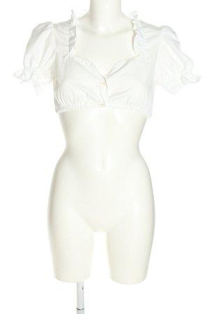 Blusa tradizionale bianco stile classico