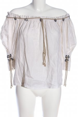 Traditional Blouse cream classic style