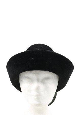 Folkloristische hoed zwart casual uitstraling
