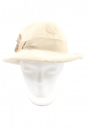 Traditional Hat natural white casual look
