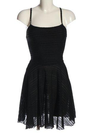 sub couture Trägerkleid schwarz Elegant