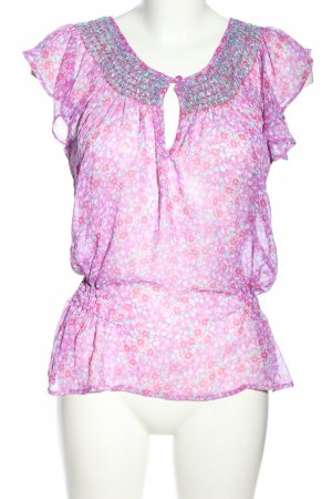 Monsoon Fusion Transparenz-Bluse Allover-Druck Business-Look