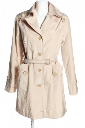 Trench bianco sporco stile casual