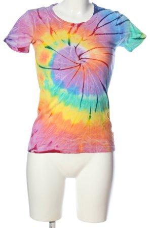 Boatneck Shirt color gradient casual look
