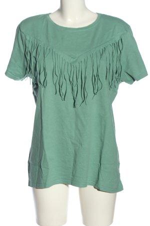 Boothalsshirt groen casual uitstraling
