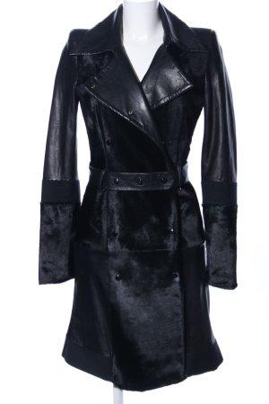 Übergangsmantel schwarz extravaganter Stil