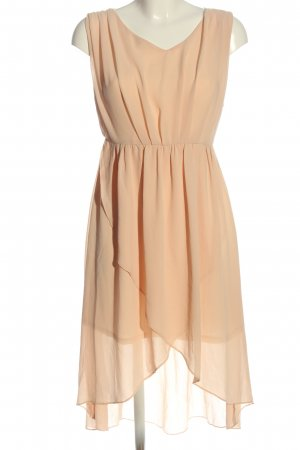 Divalicious High Low Dress cream casual look