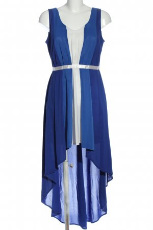 marlena Jurk met langere achterkant blauw-wit elegant