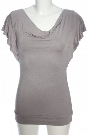Waterval shirt lichtgrijs elegant