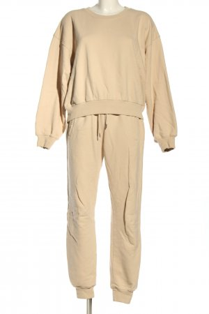 Woven Twin Set natural white casual look