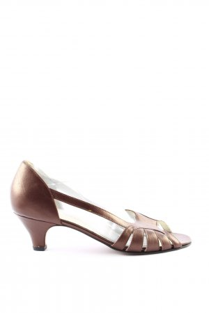 Wedge Sandals brown business style