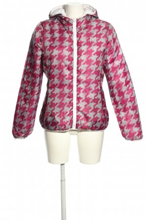 Macron Reversible Jacket pink-light grey allover print casual look