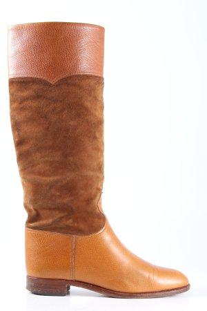Buty w stylu western brązowy-jasny pomarańczowy W stylu casual