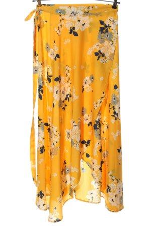 Wraparound Skirt allover print casual look
