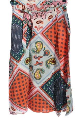 olivier bonas Wraparound Skirt allover print casual look