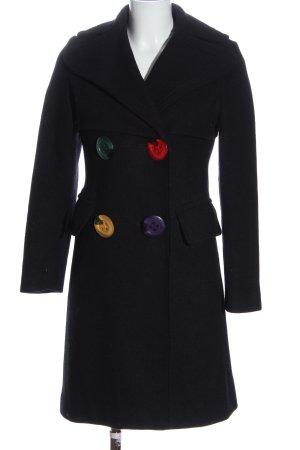 Linxi Abrigo de invierno negro look casual