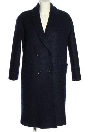Etam Weekend Winterjas blauw zakelijke stijl