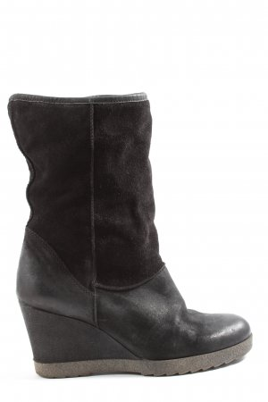 Winter Boots black casual look