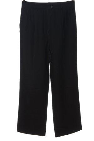 Marie Pierre Paris Pantalon en laine noir style d'affaires