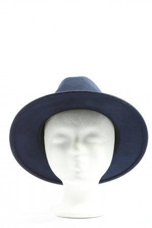 HICKS & BROWN Cappello di lana blu stile casual