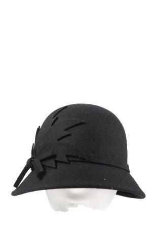 major wear Wełniany kapelusz czarny W stylu casual
