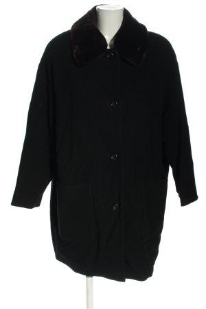 Wool Jacket black casual look