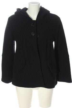 TRF Veste en laine noir style décontracté