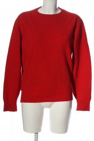 Kirsch Wollpullover rot Casual-Look