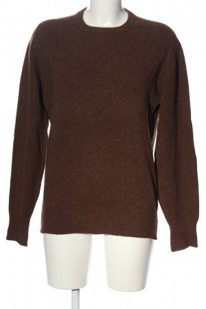 Jessica Simpson Wool Sweater brown flecked casual look