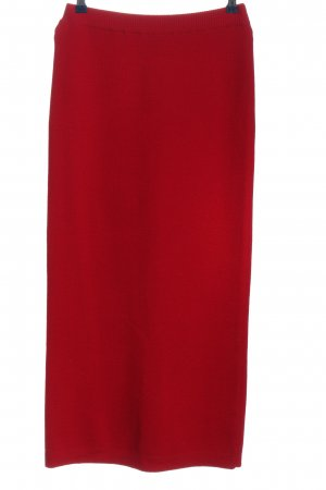 DW-Shop Wool Skirt red casual look
