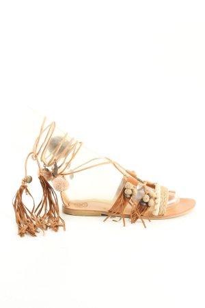 Sandalo toe-post multicolore stile casual