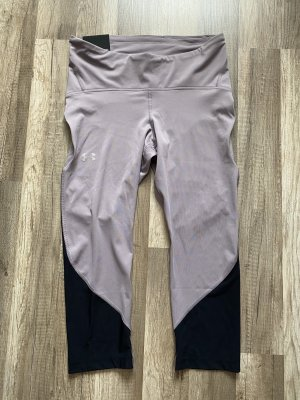 Under armour pantalonera negro-malva