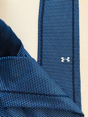Under Armour HeatGear Printed Leggings Blue
