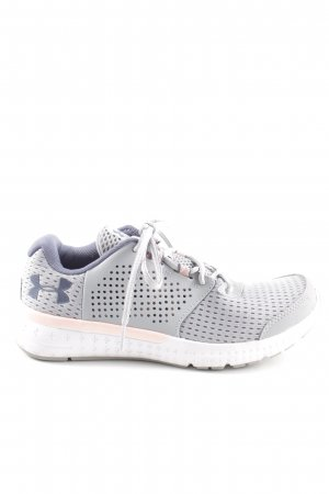 Under armour Lace-Up Sneaker light grey-blue casual look