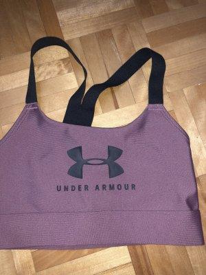 Under armour Canotta sportiva color oro rosa-grigio