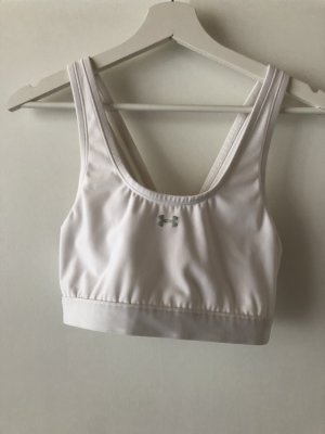 Under armour Haut bustier blanc polyester