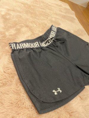 Under armour Pantalón corto deportivo negro-blanco