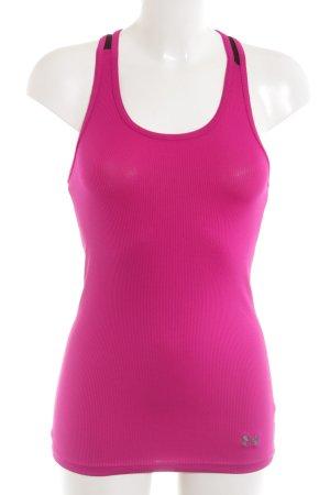 Under armour Sporttop pink sportlicher Stil