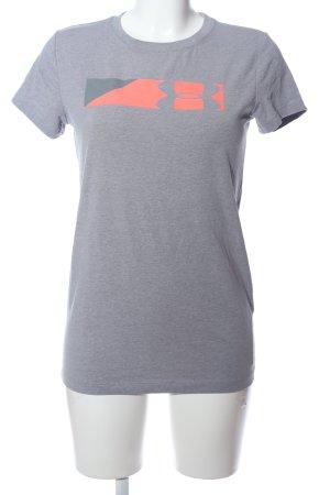 Under armour T-Shirt blau meliert Casual-Look
