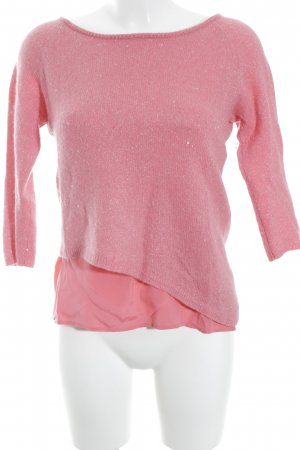 Unger Cashmerepullover pink Glitzer-Optik