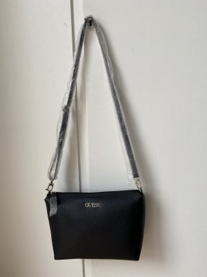 Guess Crossbody bag black polyurethane