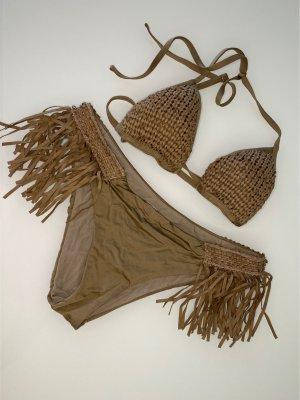 Ungetragen: Beiges bikini Set NP: 200€ (premium Marke aus Italien)