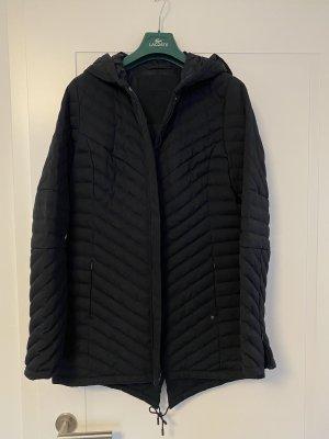 Lacoste Pikowany płaszcz ciemnoniebieski