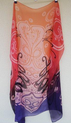 Selection by Ulla Popken Zijden sjaal veelkleurig