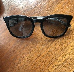 Hugo Boss Ronde zonnebril zwart