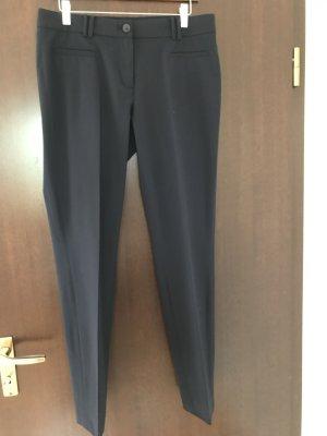 More & More Pantalón de pinza azul oscuro Viscosa