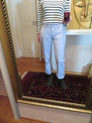 Closed Jeans a gamba dritta azzurro Cotone