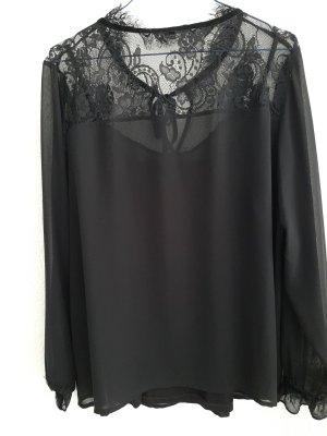 Comma Long Sleeve Blouse black